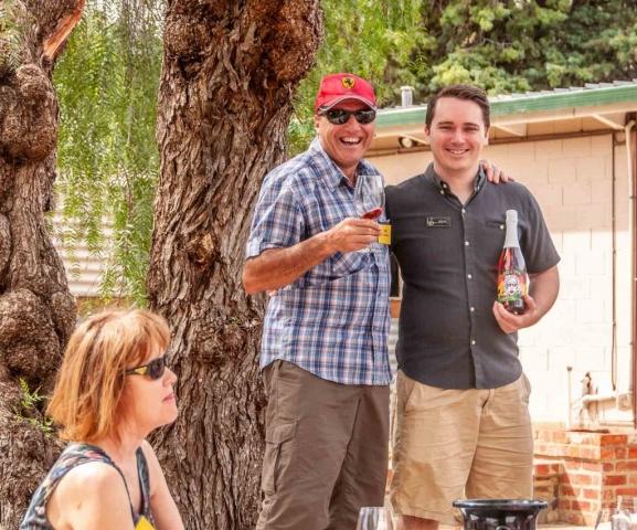 Tasting at Dell'uva Wines